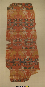 "Image of ""Hero and Lion"" Silk"