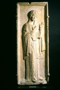 Image of Relief with Virgin Hagiosoritissa