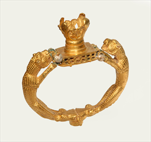 Image of Bracelet with Panthers
