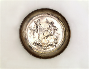 Image of Bowl with Hunting Scene