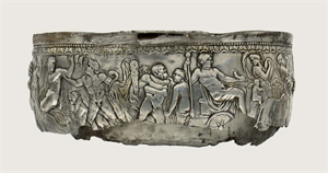 Image of Bowl with Dionysiac Procession