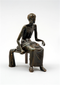 Image of Statuette of an Emaciated Man
