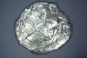 Image of Plate with Silenus
