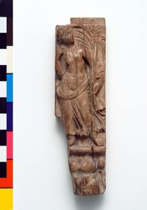 Image of Corner Post of a Box with Maenad