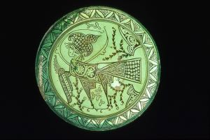Image of Bowl with Harpy on Interior