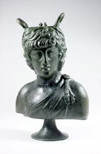 Image of Balsamarium in the Form of a Dionysiac Figure