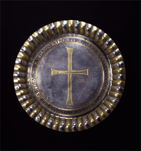 Image of Paten with Cross