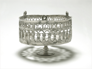 Image of Openwork Lamp with Openwork Inscription