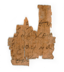 Image of Inscribed Papyrus Fragment
