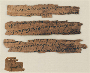 Image of Four Papyrus Fragments