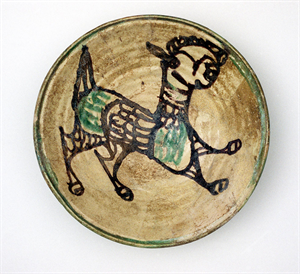 Image of Bowl with Lamb (restored)