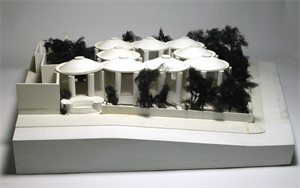 Image of Model of Pre-Columbian Collection Wing