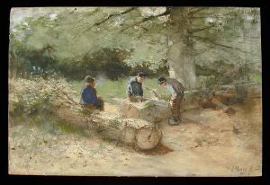 Image of Three Woodcutters