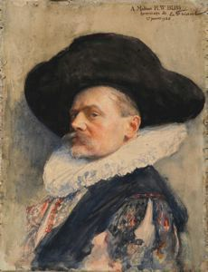 Image of Portrait of a Man (Self Portrait in 17th-Century Costume)