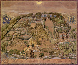 Image of Dumbarton Oaks, Topographical Map