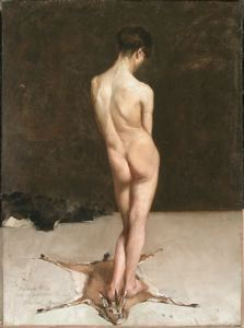 Image of Nude Figure of a Boy