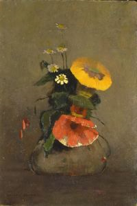Image of Vase of Flowers