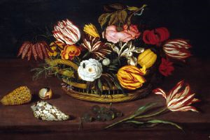 Image of Basket of Flowers