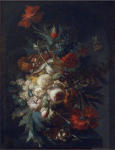 Image of Still Life with Vase of Flowers