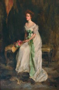 Image of Portrait of Mildred Barnes Bliss