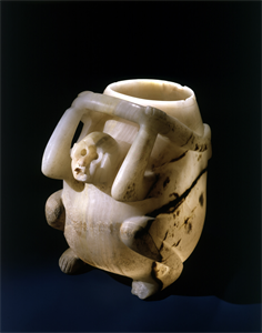 Image of Jar in the Shape of a Monkey