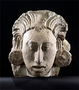 Image of Head of Maize God