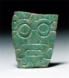 Image of Plaque Pendant of Tlaloc