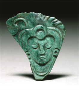 Image of Plaque Pendant of Maize Deity