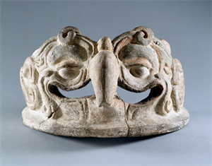 Image of Fragment of an Incense Burner Lid