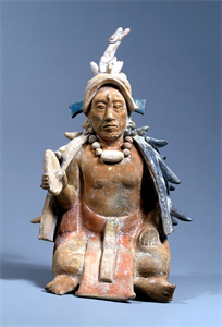 Image of Seated Figurine