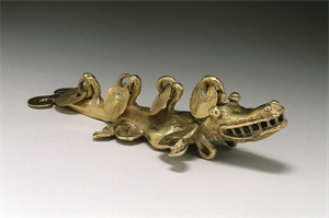Image of Crocodilian Pendant
