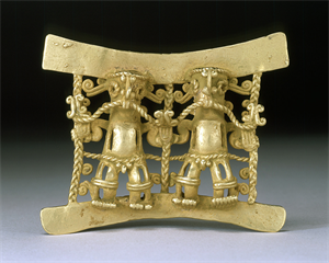 Image of Double-Figure Pendant