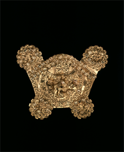 Image of Pectoral with Bird Dangles