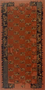 Image of Mantle with Embroidered Figures
