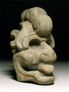 Image of Hacha or Crested Head