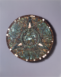 Image of Disk with Mosaic Inlays